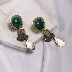 Earring Agate Gemstone Ready to WEAR